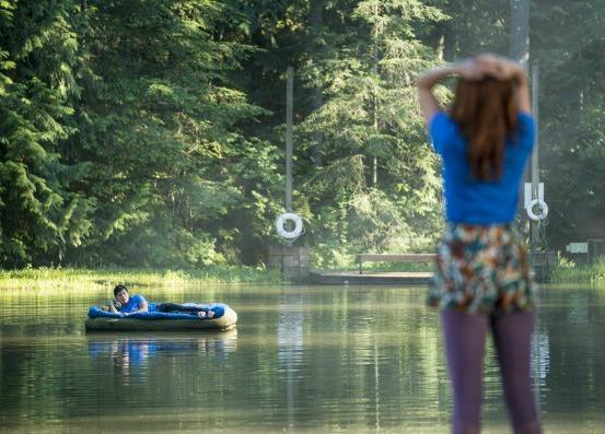 disenchanted forest lake