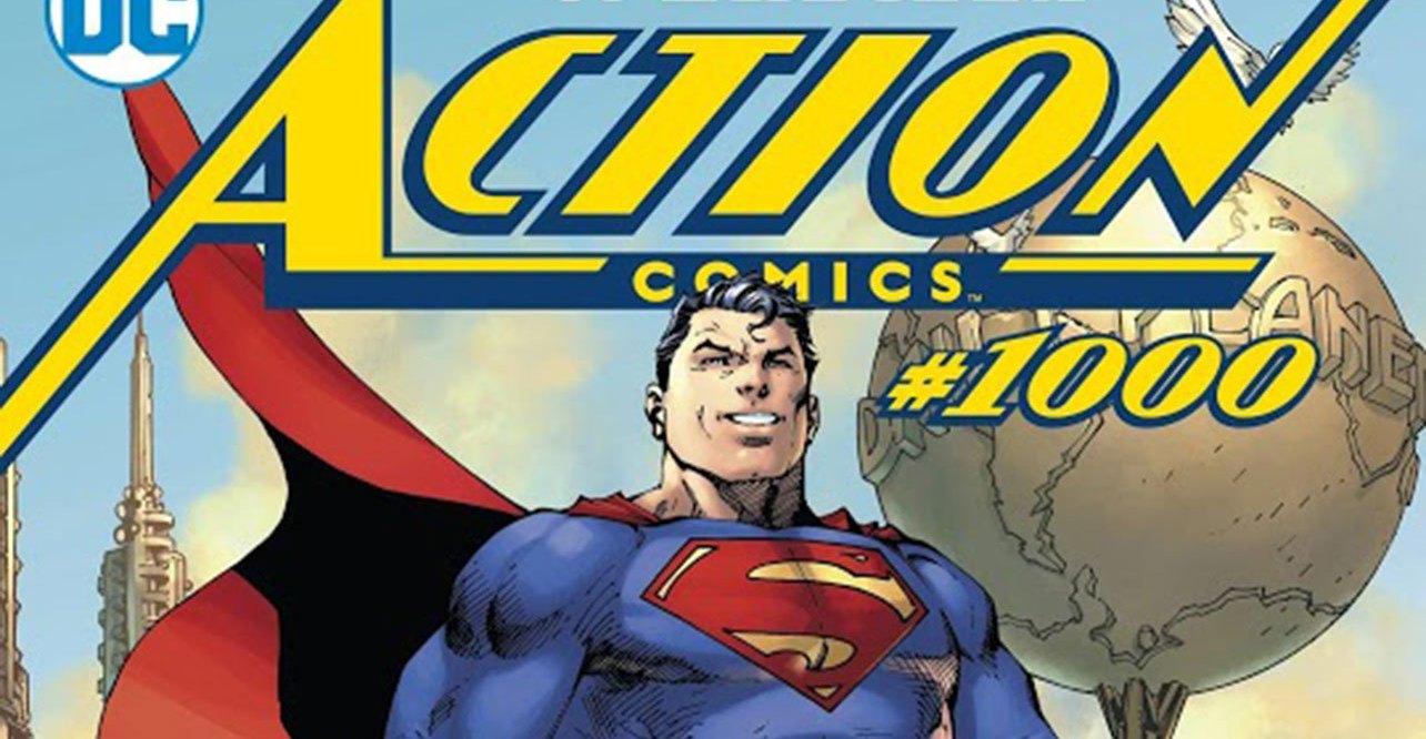 action comics comic book superman