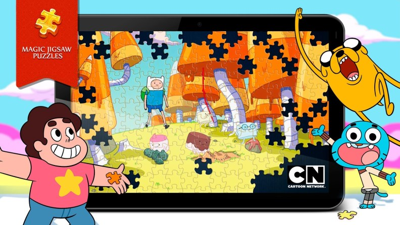 Magic Jigsaw Puzzles - Adventure Time pack