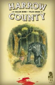 Harrow County Cullen Bunn Tyler Crook Dark Horse Comics comic books horror