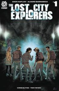 The Lost City Explorers AfterShock Comics Zack Kaplan Alvaro Sarraseca
