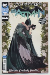 Batman 50 Catwoman wedding Tom King Mikel Janin DC Comics