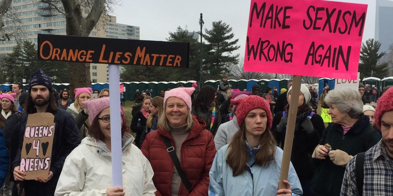 Leftscape Women's March in Philadelphia, January 21, 2017