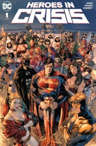 Heroes In Crisis #1, Tom King, Clay Mann, DC Comics, comic books