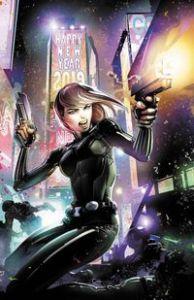 Black Widow #1, Jen Soska, Sylvia Soska, Flaviano, Marvel Comics, Twisted Twins, Black Widow