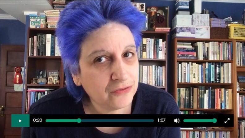 Wendy Sheridan - Postcards Against Fascism video image