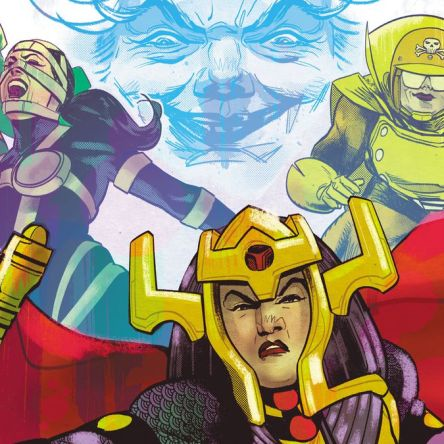 Female Furies #1, Cecil Castellucci, Adriana Melo, DC Comics, Female Furies, comic book, miniseries, first issue