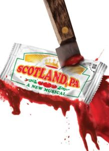 Scotland PA poster (knife through a ketchup packet)