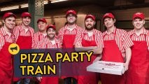 We delivered 20 pizzas to a random subway car. Full Story: http://improveverywhere.com/2015/04/14/pizza-party-train/ SUBSCRIBE: http://bit.ly/iesub Join Us: http://improveverywhere.com/email-lists/ For our latest mission, we threw a pizza party on a subway car. Two men posing as MTA officials told passengers that their specific E-train car was determined to be the most courteous […]