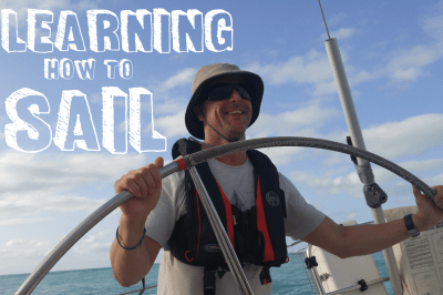 Matt learns how to sail (and why it's great to learn)