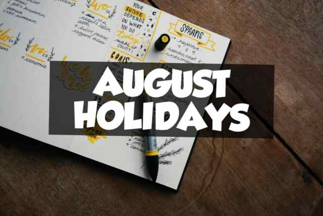 August 2 holidays and observances