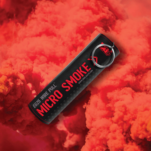 EG25 Micro Wire Pull Smoke - Red