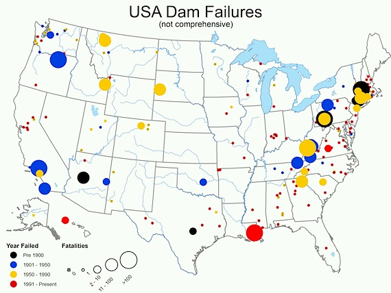 damfailures NRC Whistleblowers: Risk of Nuclear Melt Down In U.S. Is Even HIGHER Than It Was at Fukushima