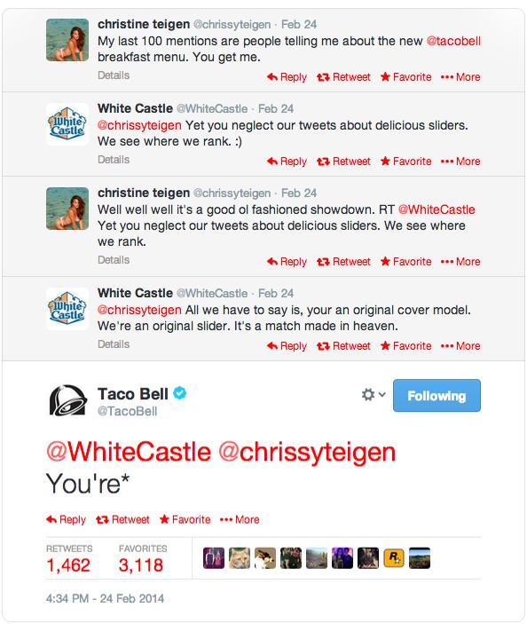 taco bell tweets