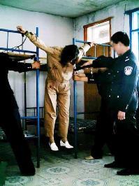酷刑演示:懸空吊起