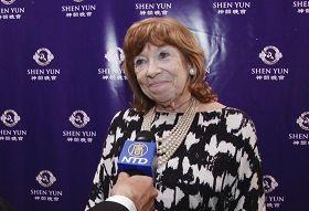 '阿根廷著名電視節目主持人范妮﹒曼德爾鮑姆'