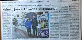'芬蘭《圖爾庫日報》對法輪功的報導'