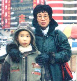 石素美與兒子