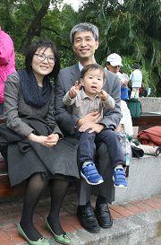 韓國大學教授蔡承遇舉家漂洋過海來到台灣學習中文,一圓讀原文《轉法輪》的願望。