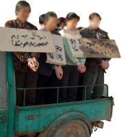 酷刑演示:於麗波孕期被掛牌遊街
