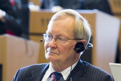 '圖:歐洲議會最大黨基督教民主黨資深議員特恩﹒克蘭(TunneKelam)'