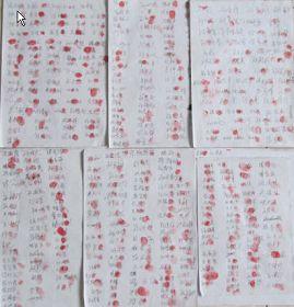 滄縣四百三十二人簽名聲援營救孫玉強老人