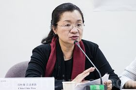立法委員田秋堇表示,不能讓在國外移植器官形同毫無管制