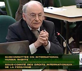 '加拿大著名的國際人權律師大衛﹒麥塔斯'