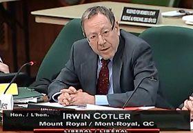 '加拿大國際人權委員會副主席歐文﹒考特勒'