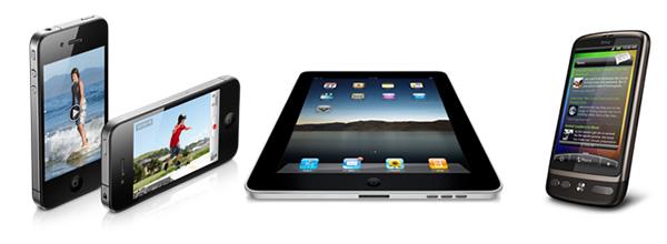 multi protocol streaming, iPhone iPad HTC desire