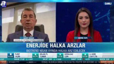 """Photo of Davut Doğan: """"Enerji'de Halka Açılacağız"""""""