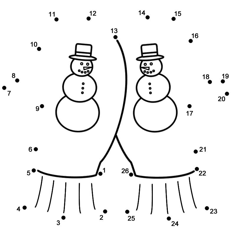 Dot To Dot Printables Winter Novocom Top