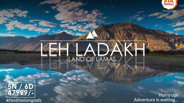 Leh Ladakh Social Media Promotion Art Work Design For Travel Company