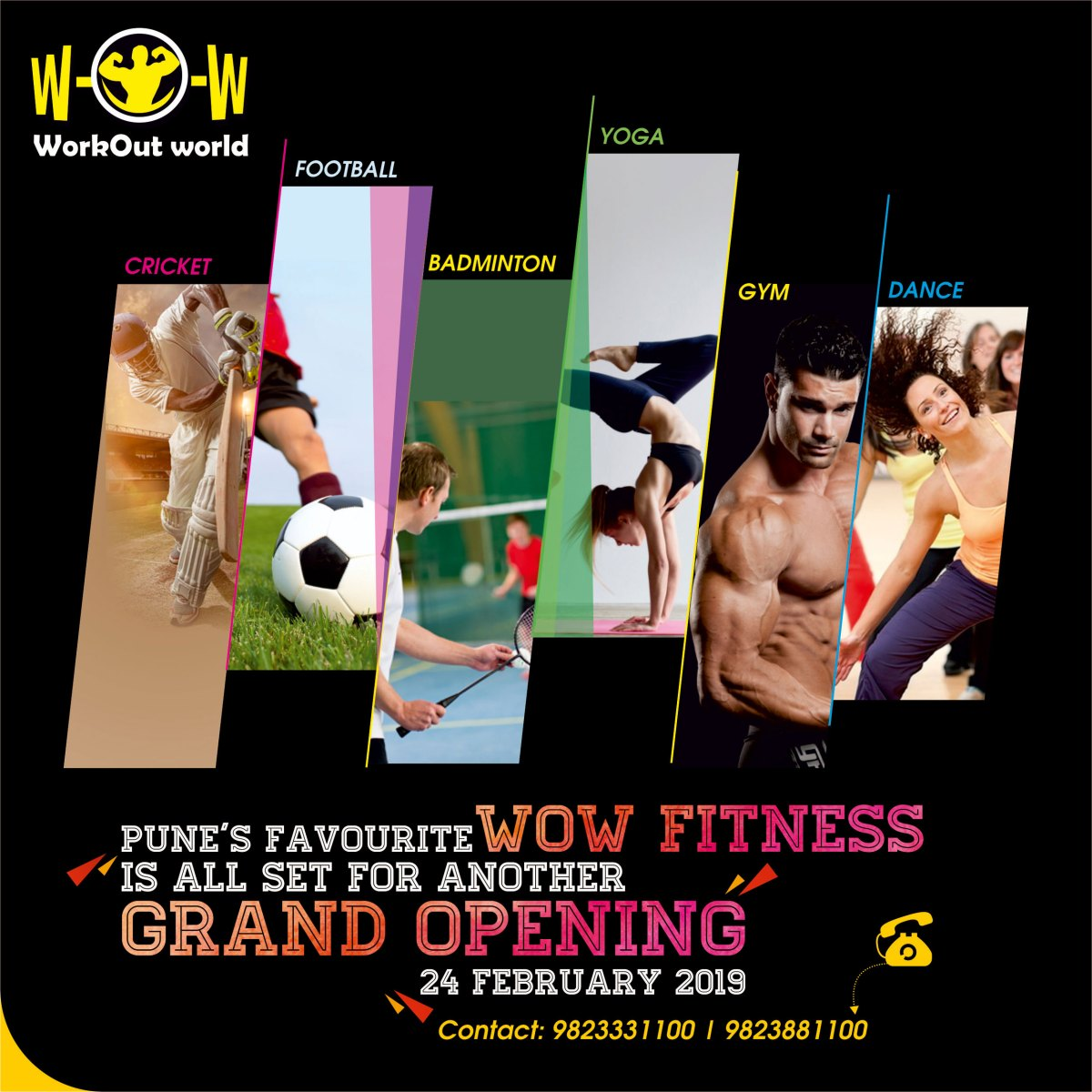 Wow Fitness Gym Design