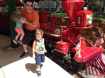 Train at the Oklahoma City Zoo