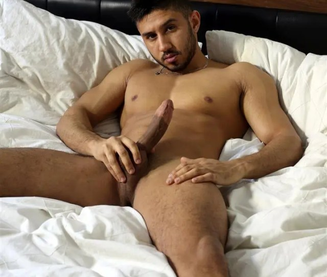 Young Naked Moroccan Man Jerks His Big Arab Cock