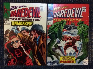 Daredevil #28 and #29 - beautiful NM-/NM copies!