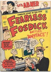 Li'l Abner Comics #68 (#8) - VG/F - January 1949 - featuring Fearless Fosdick and C.C. Beck art!