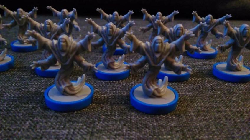 Armia pielgrzymów (12 figurek).