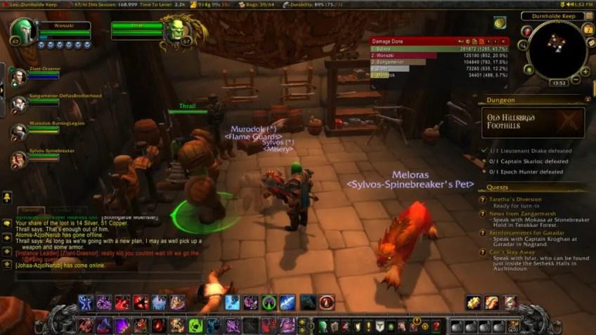 World of Warcraft - Ratujemy Thralla