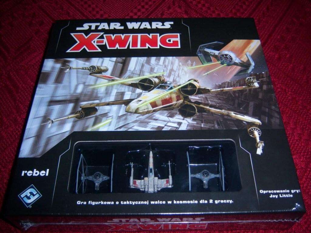 X-wing 2.0 pudełko w foli