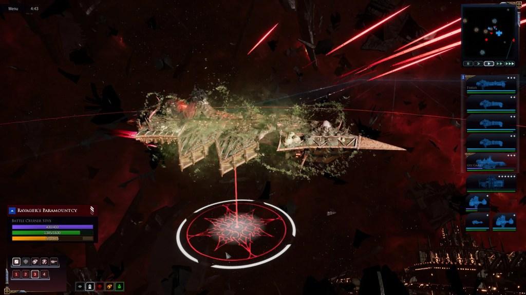 Okręty różnią się nawet między poszczególnymi zakonami. Zgadnijcie czyj okręt chaosu znajduje się na zdjęciu?
