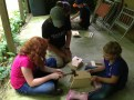 Building bluebird nest boxes