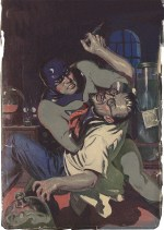 Big Bang Comics History Knight Watchman Pulp Cover