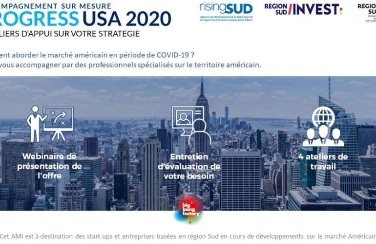 Progress USA : Comment aborder le marché américain en période de COVID-19 ?