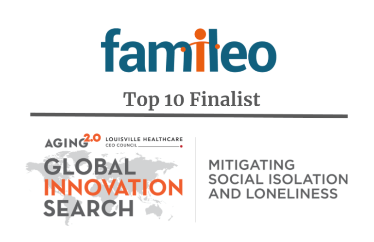 Famileo is a top 10 finalist at the Global Innovation Search