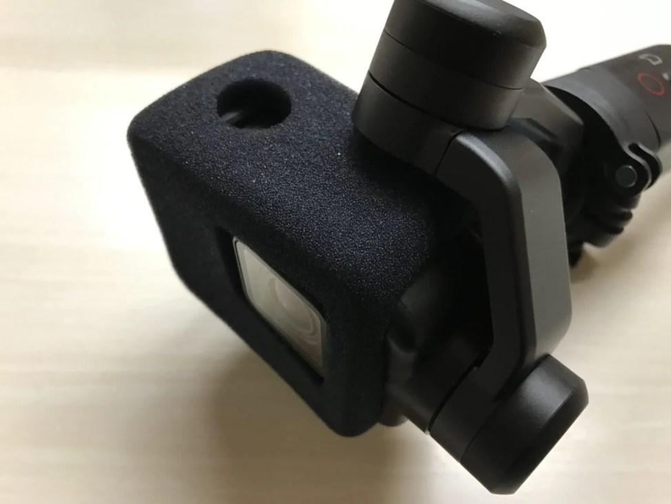 Karma Grip対応ウインドスレイヤー試作モデル2を装着
