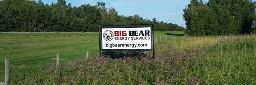 Big Bear Energy Services - Signage