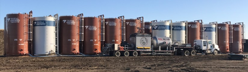 Big Bear Energy Services Tank Farm Heating