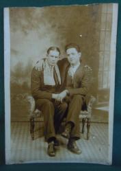 Foto de una pareja homosexual. Estados Unidos, 1929.